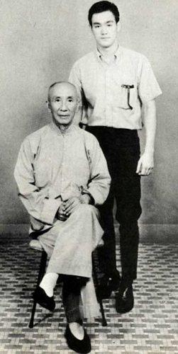 Bruce Lee en ip Man